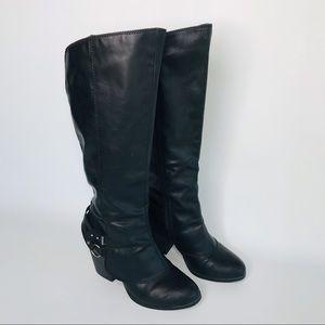 American rag women's Emily round tall boot sz:10M